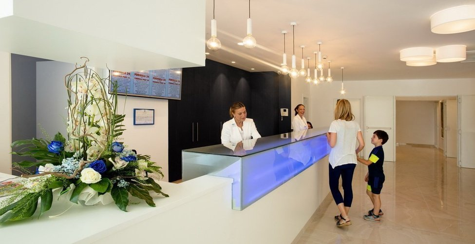 Recepción Villa Luz Family Gourmet & All Exclusive Hotel Playa de Gandía