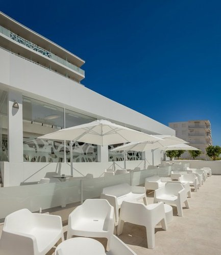 Terraza y Chillout Villa Luz Family Gourmet & All Exclusive Hotel Playa de Gandía