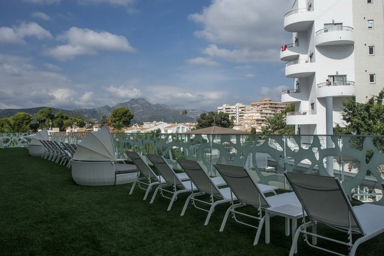 'The Tower' Terrace Club Villa Luz Family Gourmet & All Exclusive Hotel Playa de Gandía
