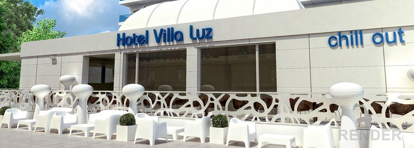 Chillout Exterior Hotel Magic Aqua™ Villa Luz