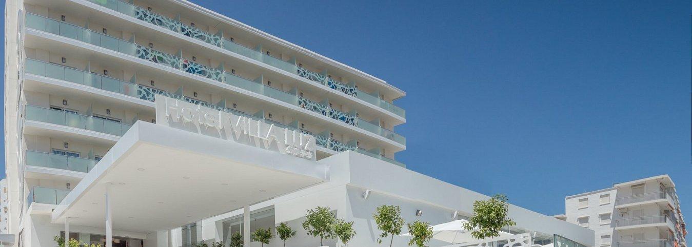 Fachada Villa Luz Family Gourmet & All Exclusive Hotel