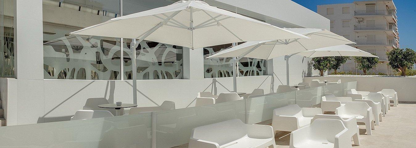 Chillout Exterior Villa Luz Family Gourmet & All Exclusive Hotel
