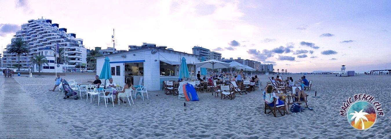 Chiringuito en la playa 'Magic Beach Club' Villa Luz Family Gourmet & All Exclusive Hotel